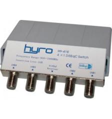 Hyro 4-Way DiSEqC Switch