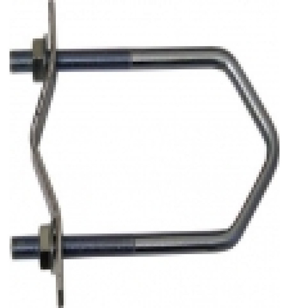Pipe Clamp 60x50mm with Clamp