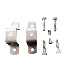 Pipe clamp for pipe D = 50mm (4 French screws)