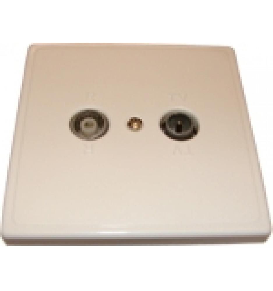 Antenna socket 14dB KTV