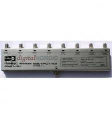 DN 8-way DiSEqC Switch 8in + 1Terr / 1ut indoors