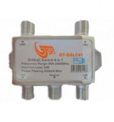 GT-DiSEqC Switch 4-way indoors