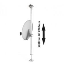 Balcony pipe bracket adjustable up 4m