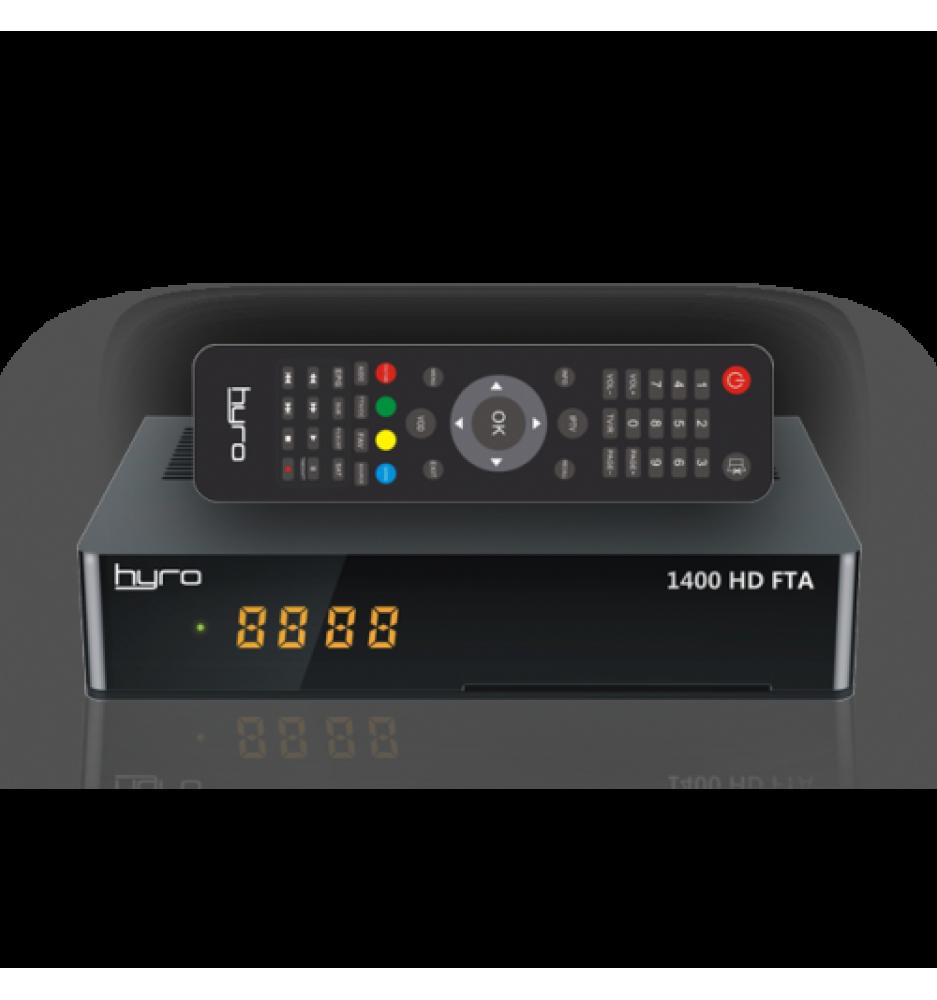 HYRO 1400 HD FTA Satellite Receiver