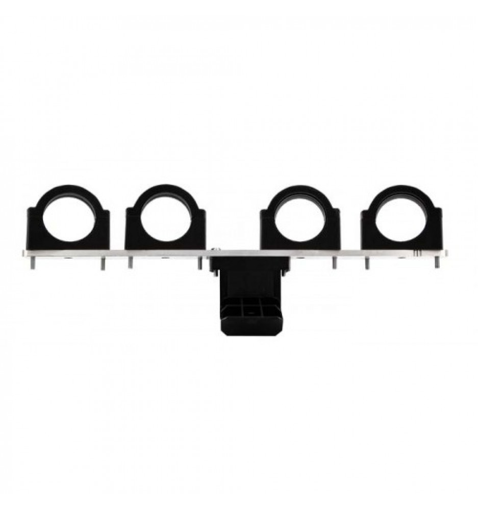 Side feed to 80-100TS Square for 4 LNB