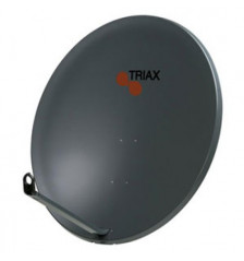 110cm Triax Satellite Light Gray Offset Square