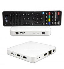 TVIP 605 Android, Linux WiFi 2,4/5 GHz,4K white