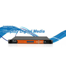 WELLA SMP100 IPTV Platform 3 Modulate space for distribution of DVB signal via Internet, QAM