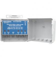 Multi-band Antenn Amplifier LB+1VHF LOG 20-30dB2Ut