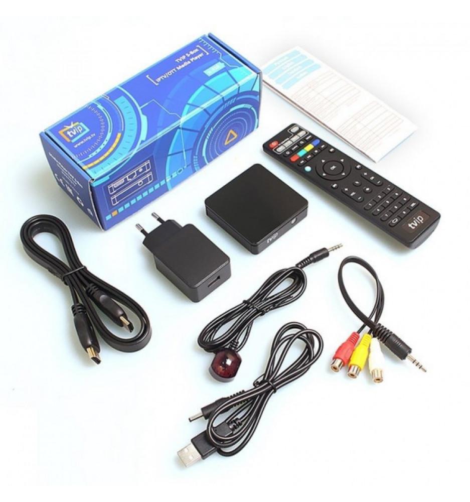 TVIP S-Box v.412 SE WiFi HD Multimedia Box Android o Linux