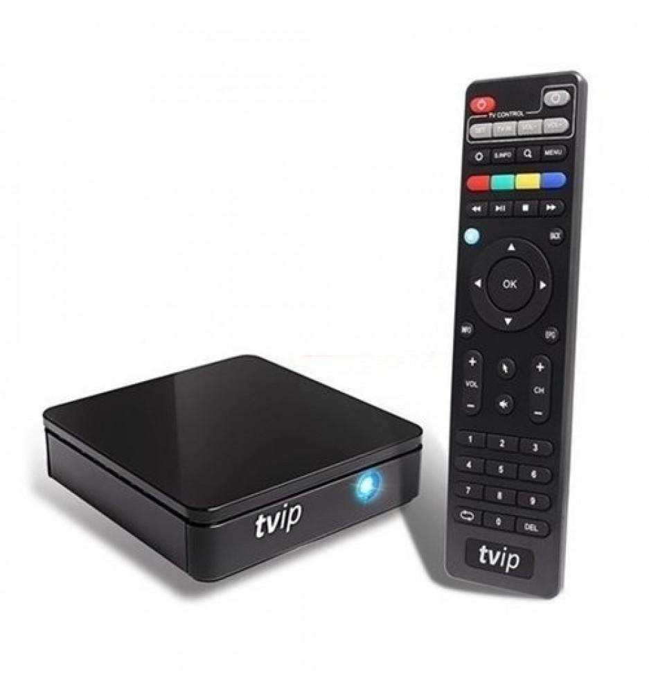 TVIP S-Box v.415 SE- IPTV HD Box Android o Linux Med WiFi 2,4/5 GHz