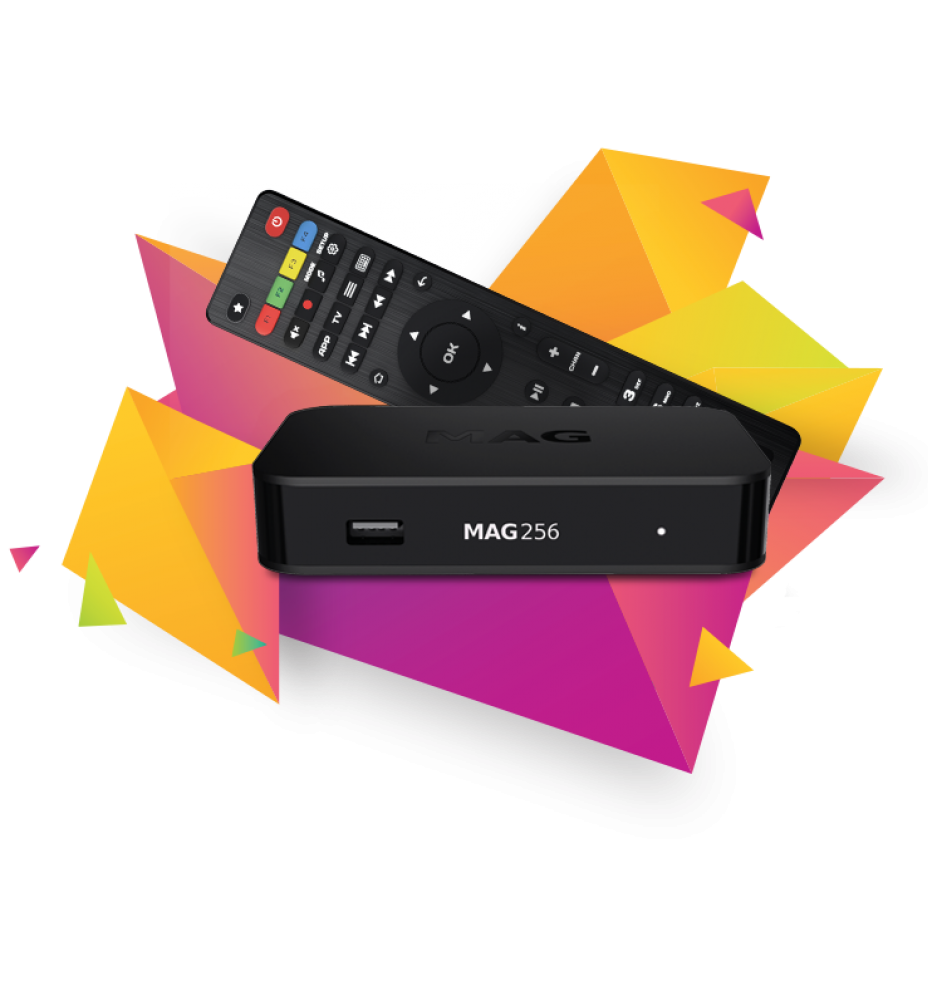 MAG 256 W2 - Built-in Wi-Fi (DualBand) 600Mbps (Original)
