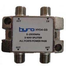 Hyro Splitter 3-Way 5-2400Mhz